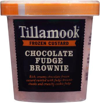 Tillamook® Chocolate Fudge Brownie Frozen Custard 15.5 fl. oz. Tub