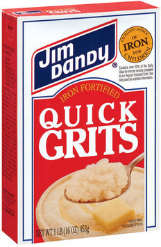 Jim Dandy Iron Fortified Quick Grits 1 Lb Box