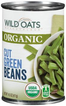 Wild Oats Marketplace™ Organic Cut Green Beans 14.5 oz. Can