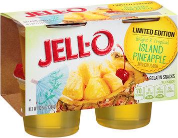 JELL-O Island Pineapple Gelatin Snacks