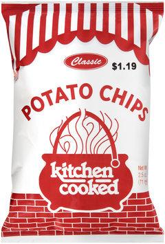 Kitchen Cooked Classic Potato Chips $1.19 Prepriced 2.5 oz. Bag