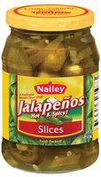 Nalley® Hot & Spicy Jalapenos Slices 16 fl. oz. Jar
