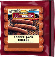 Johnsonville Pepper Jack Cheese Smoked Sausage 14oz zip pkg (101723)