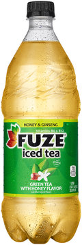 FUZE Honey & Ginseng Green Tea Iced Tea 1 L PLASTIC BOTTLE