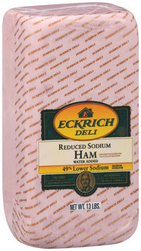eckrich reduced sodium deli - ham