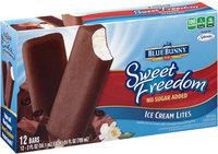 Blue Bunny® Sweet Freedom® Ice Cream Lites Bars 12 ct Box