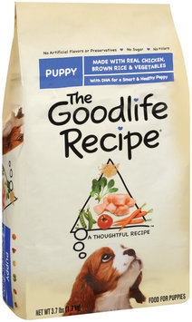 Archived The Goodlife Recipe Archived Puppy W/Chicken Brown Rice & Vegetables Dry Dog Food 3.7 Lb Bag