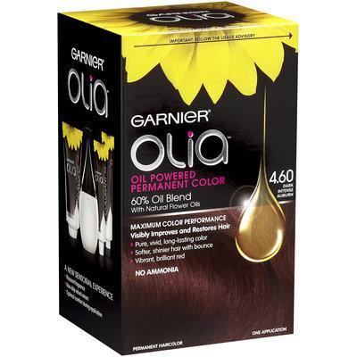 Garnier® Olia™ Oil Powered Permanent Haircolor, 4.60 Dark Intense Auburn