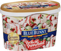 Blue Bunny® Seasonal Selections Perfectly Peppermint® Premium Ice Cream 1.75 qt. Tub