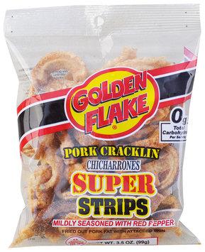 golden flake® pork cracklin chicharrones super strips
