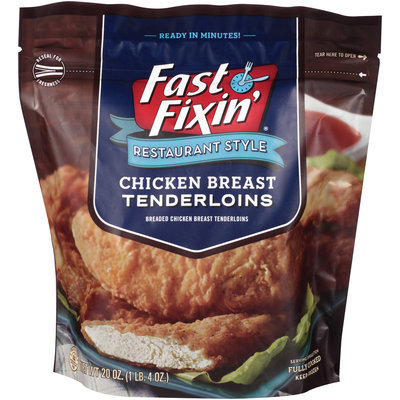 Fast Fixin'® Restaurant Style Chicken Breast Tenderloins 20 oz. Bag