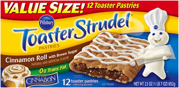 Pillsbury Toaster Strudel® Cinnamon Roll Toaster Pastries ...