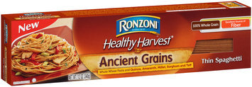 Ronzoni® Healthy Harvest® Ancient Grains Thin Spaghetti 12 oz. Box