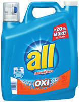 all® OXI Laundry Detergent 180 fl. oz. Bottle