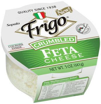 Frigo® Feta Crumbled Cheese 5 oz. Plastic Tub