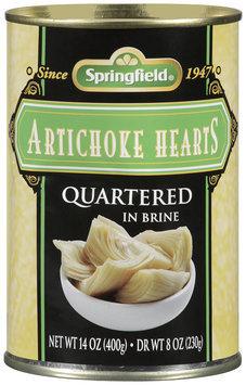 Springfield® Artichoke Hearts 14 oz. Can