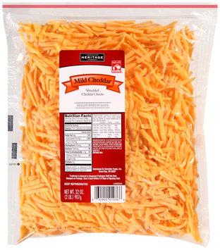 American Heritage® Shredded Mild Cheddar Cheese 32 oz. Bag