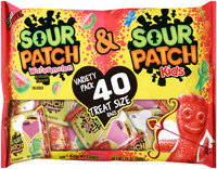 Sour Patch Kids & Sour Patch Watermelon Candy Variety Pack