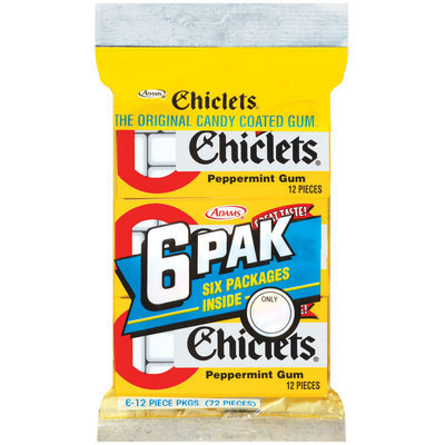 Chiclets® Peppermint Gum