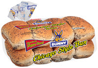 Bunny® Chicago Style Bun 8 ct Bag