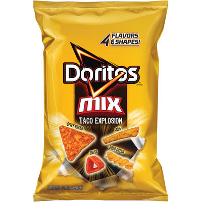Doritos® Mix Taco Explosion Flavored Tortilla Snacks