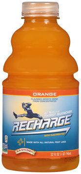 R.W. Knudsen® Recharge® Orange Flavored Sports Drink 32 fl. oz. Bottle