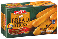 Stater Bros. Garlic 6 Ct Bread Sticks 10.5 Oz Box