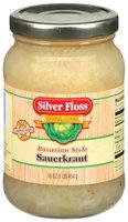 Silver Floss Bavarian Style  Sauerkraut 16 Oz Jar