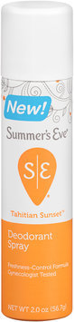 Summer's Eve® Tahitian Sunset™ Deodorant Spray 2 oz. Aerosol Can