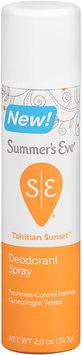 Summer's Eve® Tahitian Sunset™ Deodorant Spray 2 oz. Aerosol Can