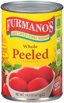 Furmano's® Whole Peeled Tomatoes 14.5 oz. Can