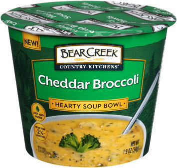Bear Creek Country Kitchens® Cheddar Broccoli Soup Mix 1.9 oz. Microcup