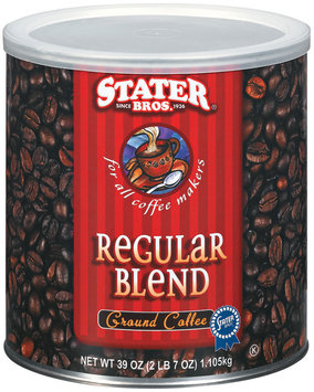 Stater Bros. Regular Blend Ground Coffee 39 Oz Canister