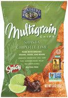 Lundberg® Shasta Chipotle Lime Multigrain Chips 1.5 oz. Bag