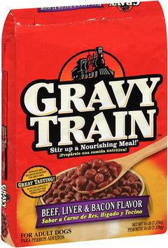 Gravy Train Beef, Liver & Bacon Flavor Dry Dog Food, 16-Pound