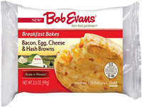 Bob Evans® Bacon, Egg, Cheese & Hash Browns Breakfast Bakes 3.5 oz. Package
