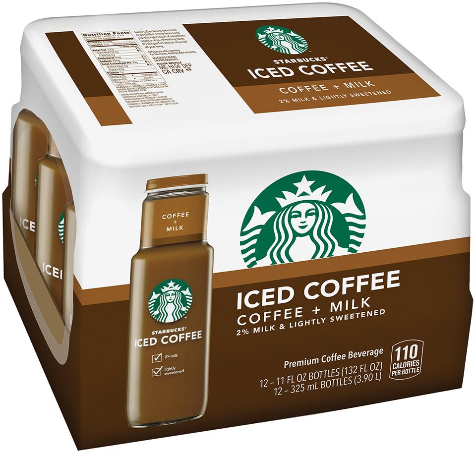 Starbucks® Iced Coffee 12 Pack 11 fl. oz. Glass Bottles