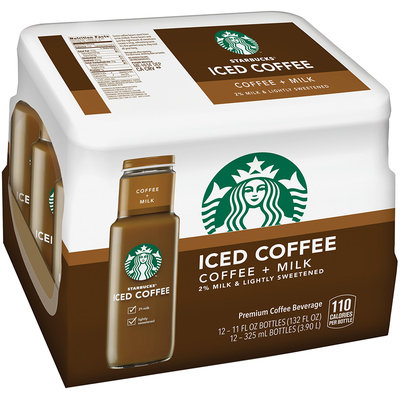 Starbucks® Iced Coffee 12 Pack 11 fl. oz. Glass Bottles