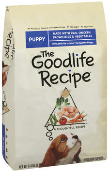 Archived The Goodlife Recipe Puppy W/Chicken Brown Rice & Vegetables Dry Dog Food 6.4 Lb Bag