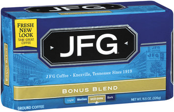 JFG Bonus Blend Ground Coffee 11.5 Oz Vac Bag