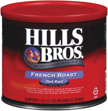 Hills Bros French Roast Coffee 27.8 Oz Canister
