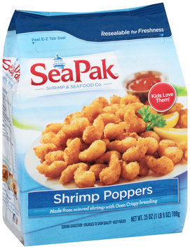SeaPak™ Shrimp & Seafood Co. Shrimp Poppers 25 oz. Bag
