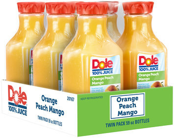 Dole® Orange Peach Mango 100% Juice 2-59 fl. oz. Bottles