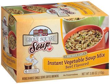 Grove Square™ Instant Vegetable Soup Mix 3.88 oz. Box