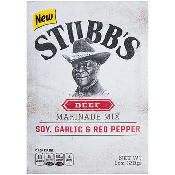 Stubb's® Beef Marinade Mix 1 oz. Pouch