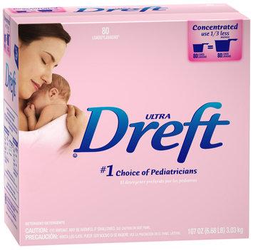 Dreft® Ultra Baby Powder Laundry Detergent 107 oz. Box
