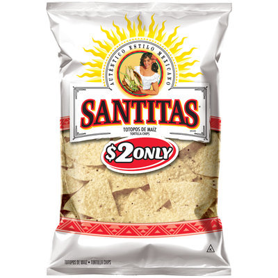 Santitas® White Corn Triangles Tortilla Chips