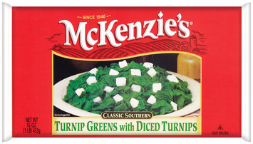 Mckenzie's W/Diced Turnips Turnip Greens