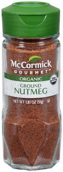 McCormick Gourmet™ Organic Ground Nutmeg 1.81 oz. Shaker
