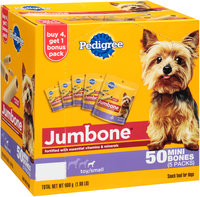 Pedigree® Mini Jumbone® Real Beef Flavor